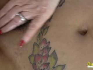 OldNannY British Mature Lacey Starr Lesbian