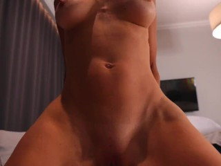 Amateur fit young Wife take a shower and fuck with husband