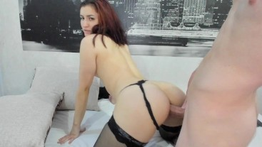 Big ass girl gets her tight asshole stretched after a long break then cum - anal live cam