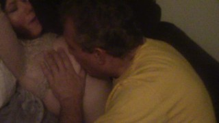 STEPDAUGHTER RIDES DADDY'S COCK AND LOVES IT