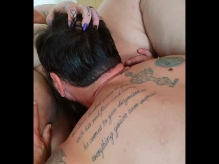Daddy then finger fucking me squirt...