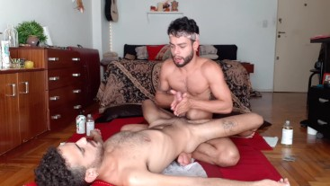 Final Scene of the Advanced Tantric Massage - ROQUE (discover more receptors)