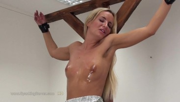 Victoria's breast whipping 2608