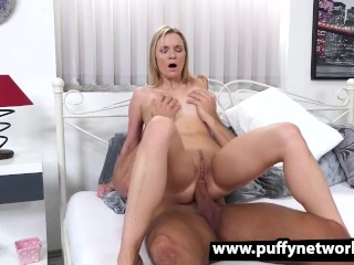 Angel Piaf Enjoys Anal Cock Riding
