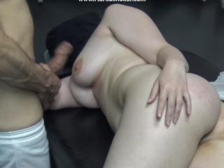 French wife went get fuck boobs while fingering...