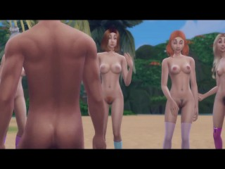 Pussy Island | Sims 4 Music Video
