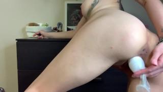 Nina Fucks her pussy with Deodorant TRAILER