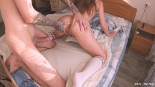 Anal pleasure for a girl with a gorgeous booty