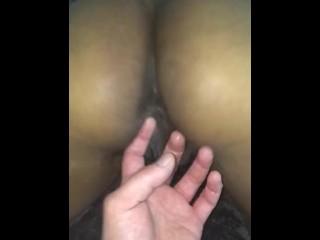 Gushing pussy soaks...
