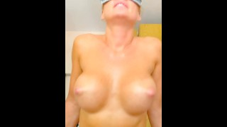 Squirting ride, Gorgeous MILF