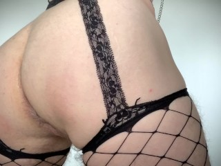 Sissy pussy training learning to be a buttslut...
