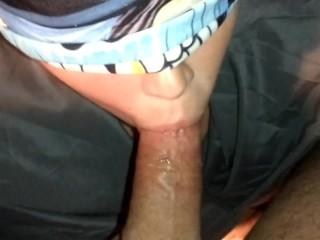 Meetup slut takes cumshot to the face