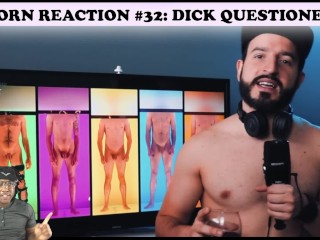 Porn reaction 36 dickquestioner funny...