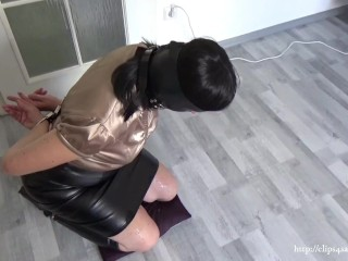 Wife after no hands blowjob