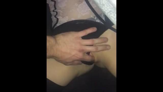 Boyfriend plays with girlfriends pussy 49