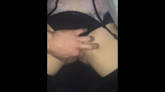 Boyfriend plays with girlfriends pussy 10