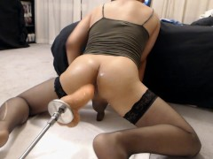 Ride My Ass Doggy Style And Make Me Cum!