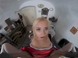 VR BANGERS Blonde Little Red Riding Hood Has Secret In Her Basket VR Porn