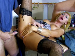 Latina tits gets hard and facialed for the...