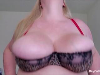 Bra bouncing bbw bra fetish bouncing boobs fat...