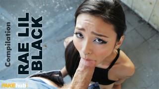 FAKEhub Japanese Babe Rae Lil Black Repeatedly Fucked
