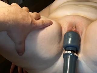 Massaging a vagina