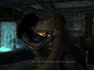 Yennefer witcher works as a whore pirate tavern...