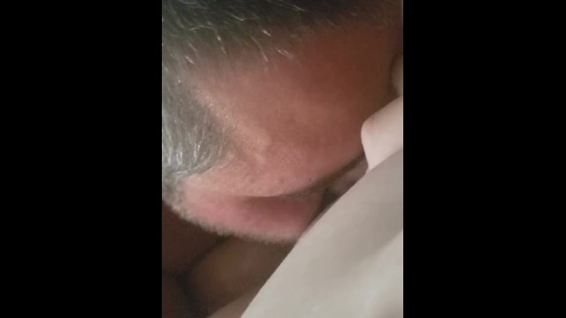 He cant get enough of my juicy pussy 13