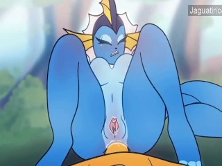 Hot Furry Vaporeon Jolteon Lesbian Sex Futanari