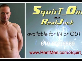 Squirtone aka realjock available now for in or...