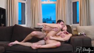 Busty Brunette Kecy Hill Titty Fucks Big Cock before Sensual Love Making - S11:E10