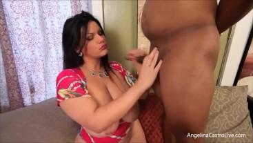 Big Tit Latina Angelina Castro Is Good at Teasing and Pleasing Diamond Lou's BBC!