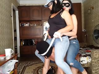 29 saddled and spanked...
