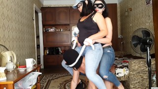 FFM session #29 Saddled and spanked