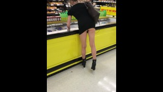 SUCH A COCK TEASE IN THE GROCERY STORE