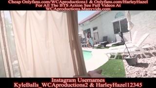 Pool Cabana Fun With My Friends Hot Fun Part 2 Harley Hazel