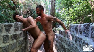 Reality Dudes - Two Hunks Alex & Skorpio Sucking Each Other Dick Out In The Woods
