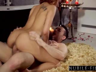 Romantic Bathtub Fuck with Petite Brunette Veronica Leal – S37:E6