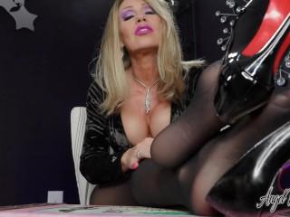 Boss Feet Demand Total Submission - Nikki Ashton