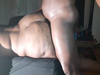 All dat azz butt gets pounded until he...