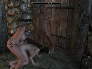 Skyrim lydia beautiful heroine and good game 3d...