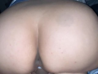 Nice thick Latina riding my dick reverse cowgirl …..
