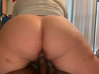 Booty neighbor pawg husband was away so she...