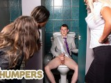 LIL Humpers - Big Tits Rebecca Jane Smyth Caught Sam Bourne Masturbating Then Starting Fucking Him