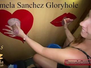 Hot wife strangers swinger club amateur gloryhole first...