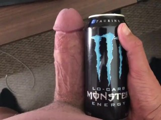 Dick explodes wads of cum after edging...