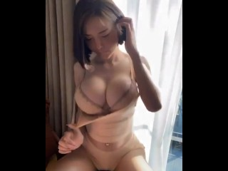 I could watch boobs bounce all day.