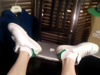 Worships adidas stan smith sneakers white socks boys...