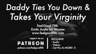 Roleplay: Ties You Down Aftercare (Erotic Audio for Women)