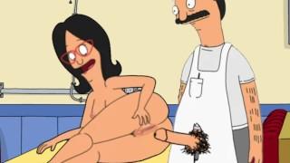 Bob's Burgers Linda & Bob Fuck at the Restaurant Animation Cartoon Sex Married Fuck in Public